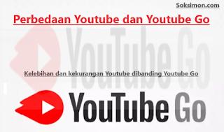 Perbedaan Youtube dan Youtube Go Serta Kelebihan dan Kekurangannya