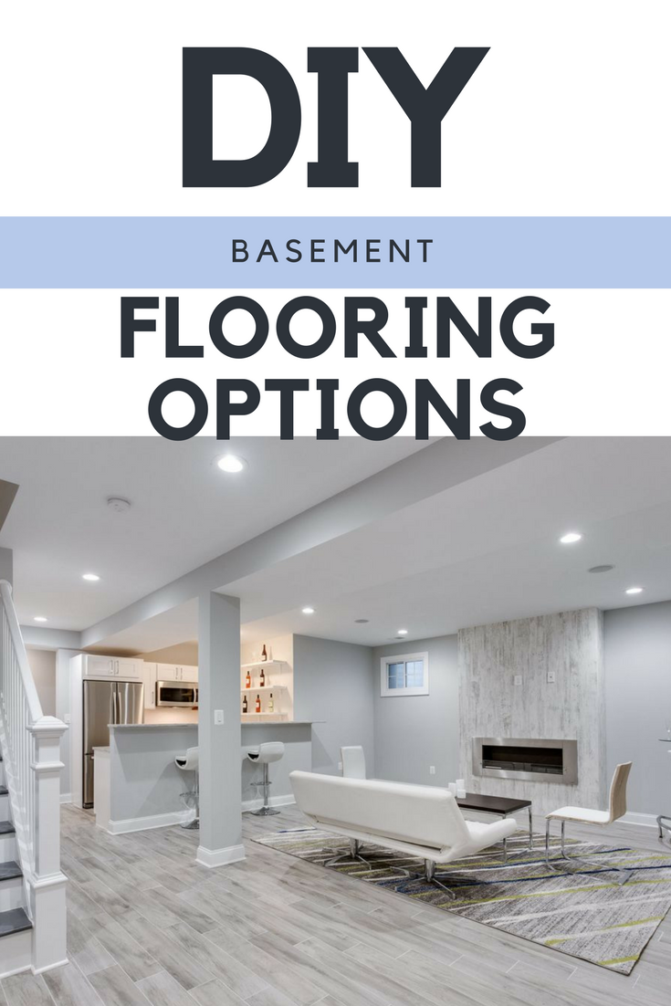 DIY Basement Flooring Options  sc 1 st  Lucy Jo Home & DIY Basement Flooring Options - Lucy Jo Home