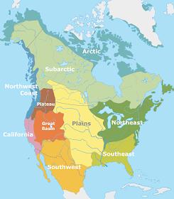 Amerindian cultural areas