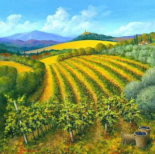 cuadros-con-cultivos-modernos-de-paisajes-del-mediterraneo
