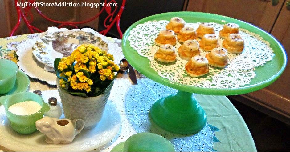 Lemon thyme tea cake recipe