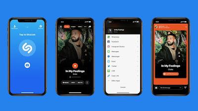 Kini Aplikasi Untuk IOS Shazam Bisa Menyebarkan Stories Ke Instagram