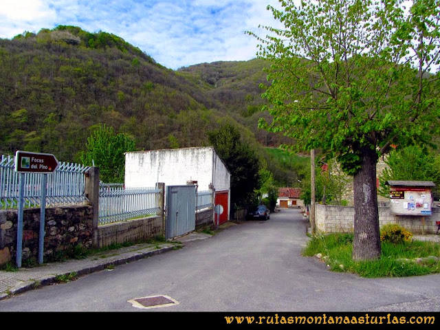 Ruta Peña Redonda: Inicio de ruta en El Pino