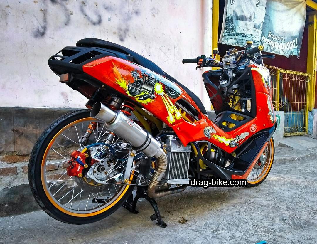 70 Foto Gambar Modifikasi Motor Yamaha Nmax Paling Terbaru