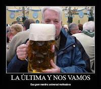 la ultima cerveza humor