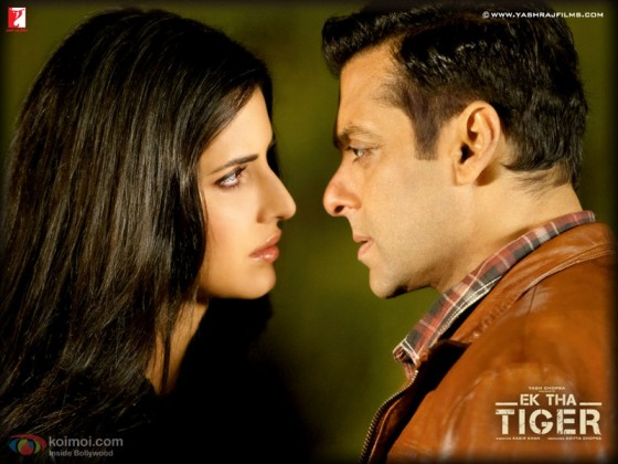 Salman Khan And Katrina Kaif In Ek Tha Tiger: Ek Tha Tiger Salman Khan & Katrina Kaif Life Time Photography