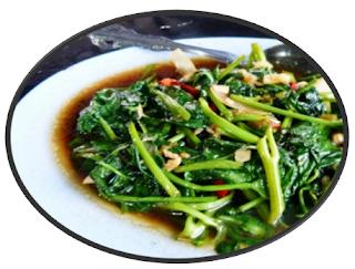 Resep masakan kangkung plecing