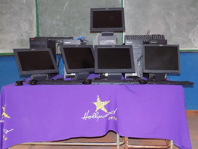 Rifunze Foundation - Hollywoodbets donation - computers - Makhado