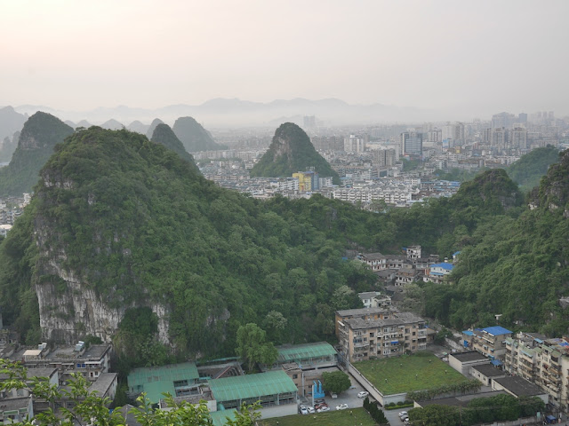 view from Crane Peak at Diecai Hill