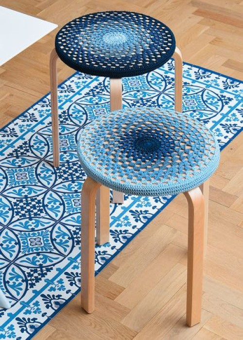 Stool Cover - Free Pattern