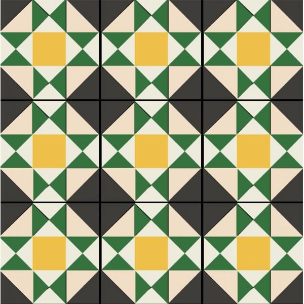 imagenes de mosaicos con figuras geometricas