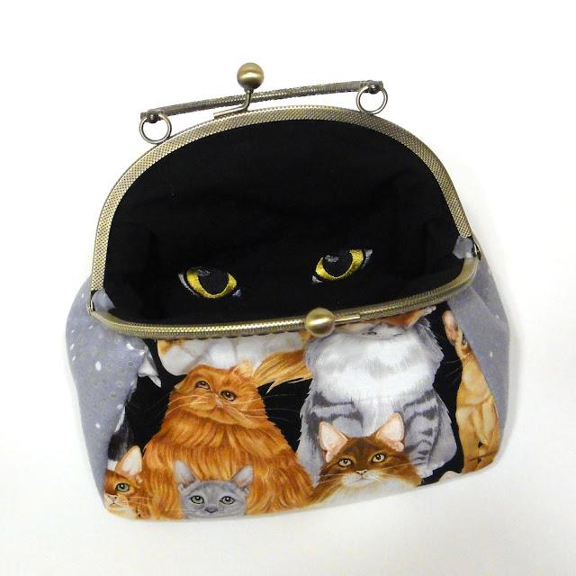Сумка с кошками - кошачьи глаза, мяу! Ручная работа, один экземпляр. Доставка почтой или курьером.