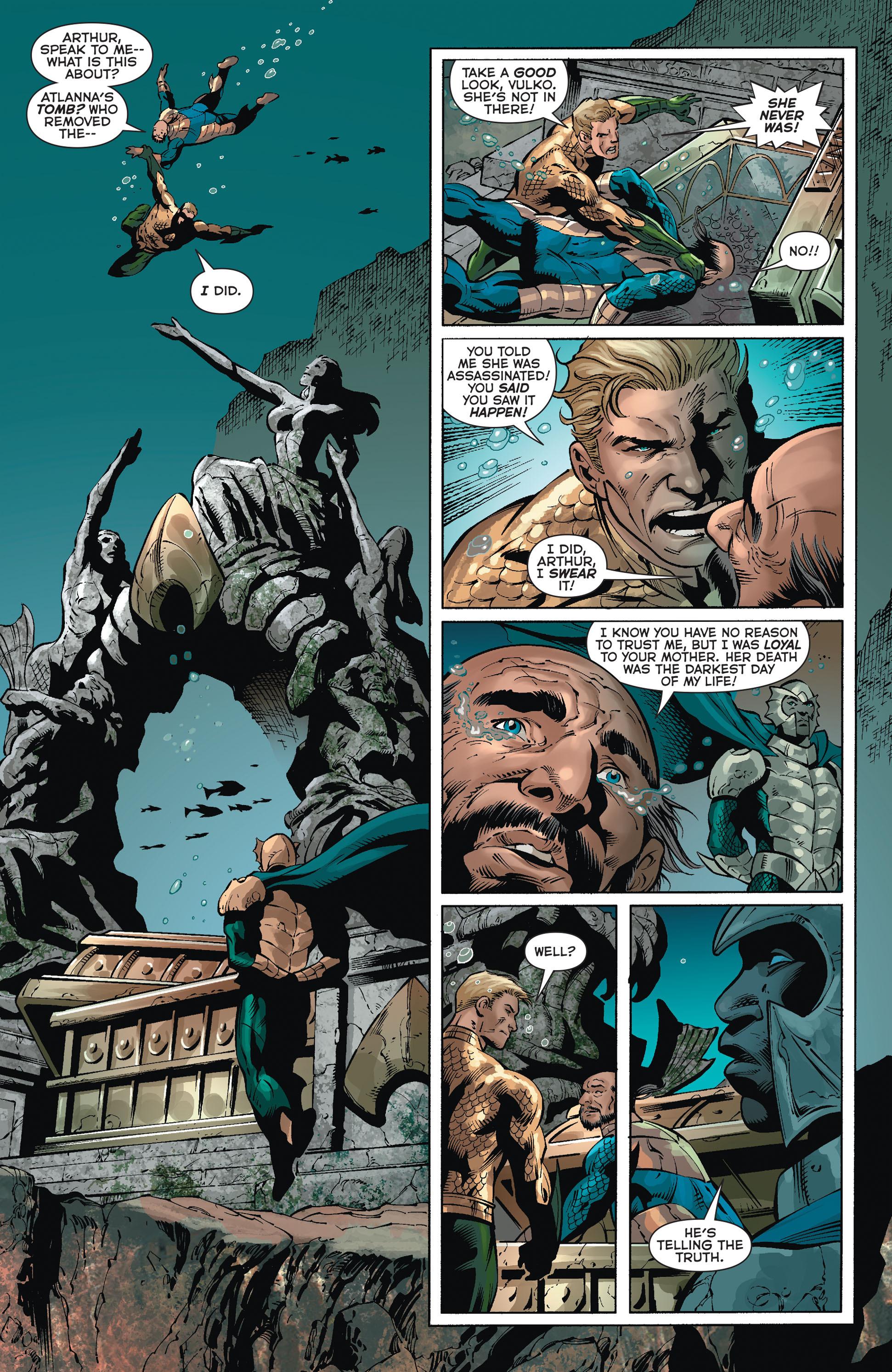 Read online Aquaman (2011) comic -  Issue #36 - 3