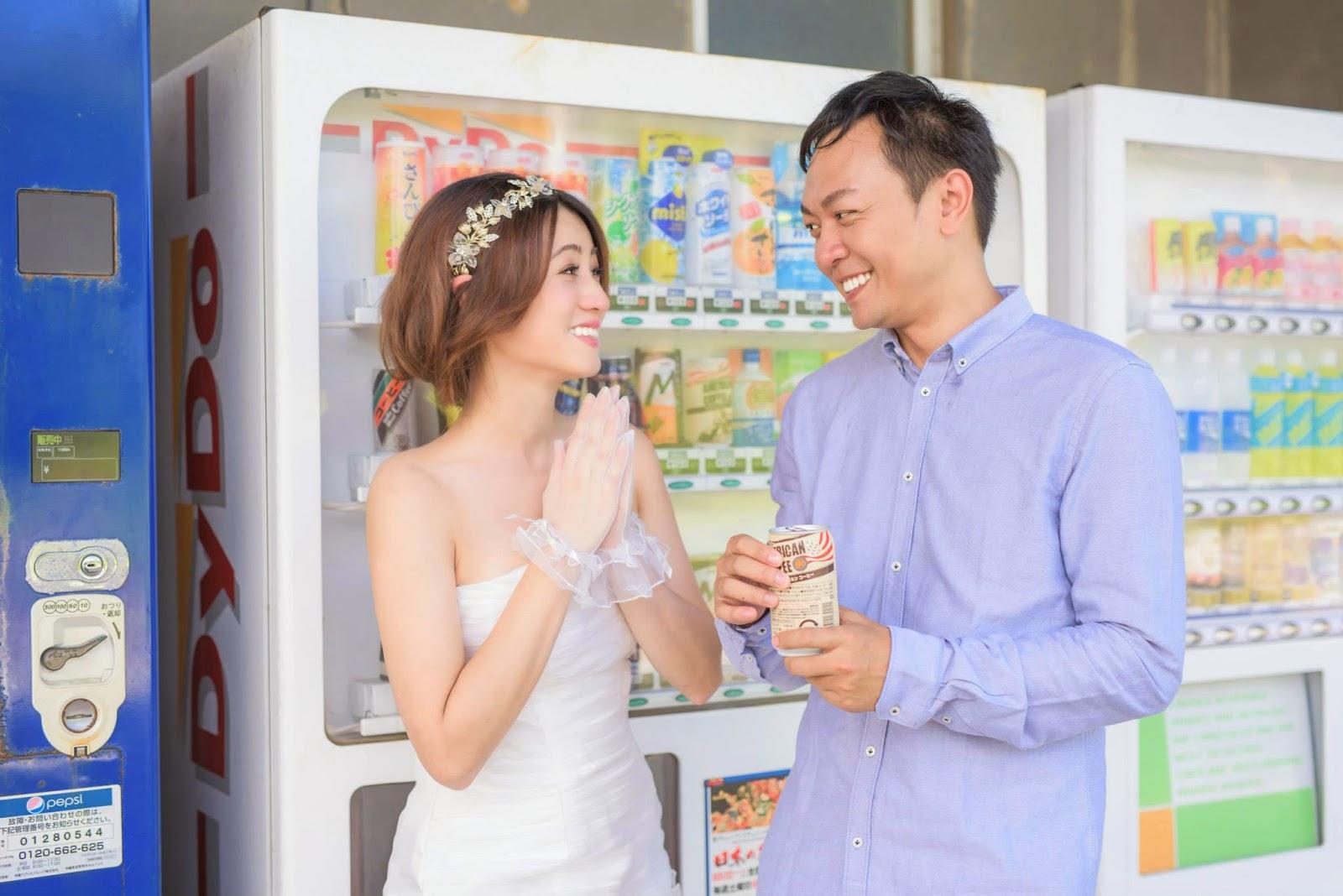 日本 婚紗景點 販賣機