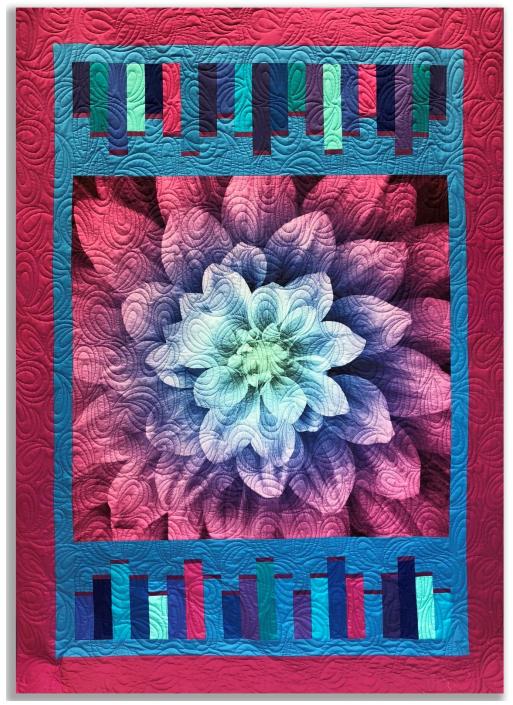 Brush Stroke Quilt Free Pattern Designed by Donna Jordan for Jordan Fabrics