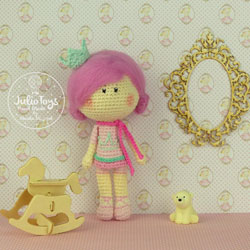 Crochet pattern dolls