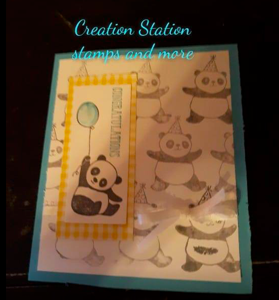 Stampin' For All Sketch Challenge Nigezza Creates