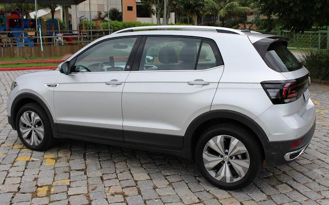 Volkswagen T-Cross - carro mais vendido do Brasil em julho de 2020