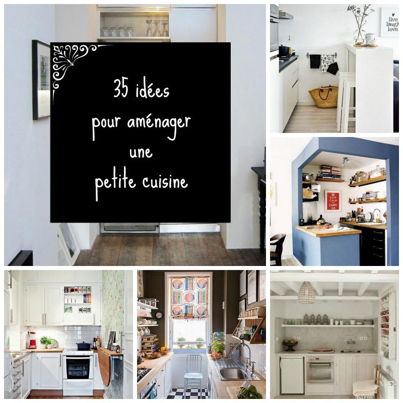 home garden 35 id es pour am nager une petite cuisine. Black Bedroom Furniture Sets. Home Design Ideas