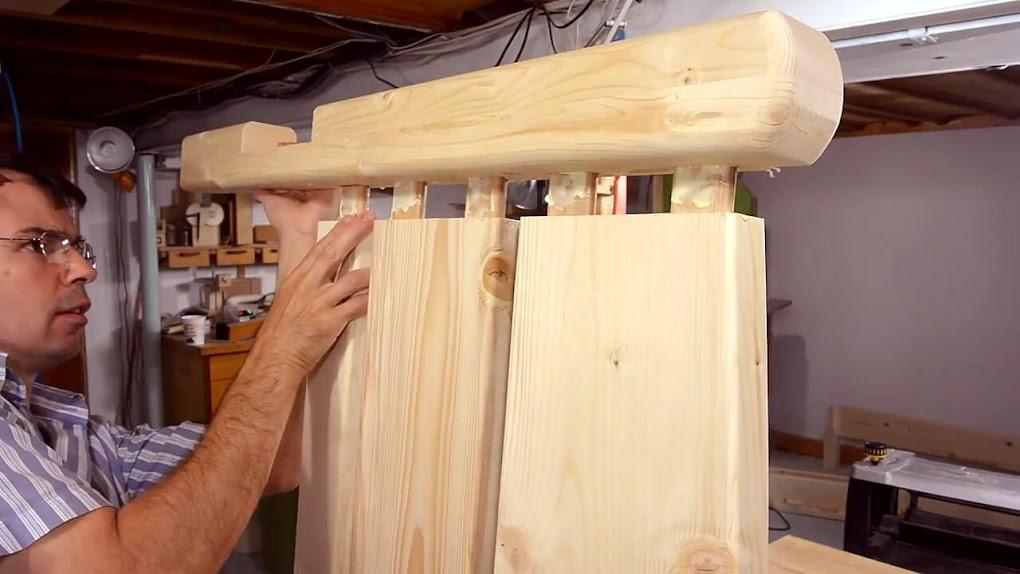 Color amarillo para casas for Como fabricar una cama de madera