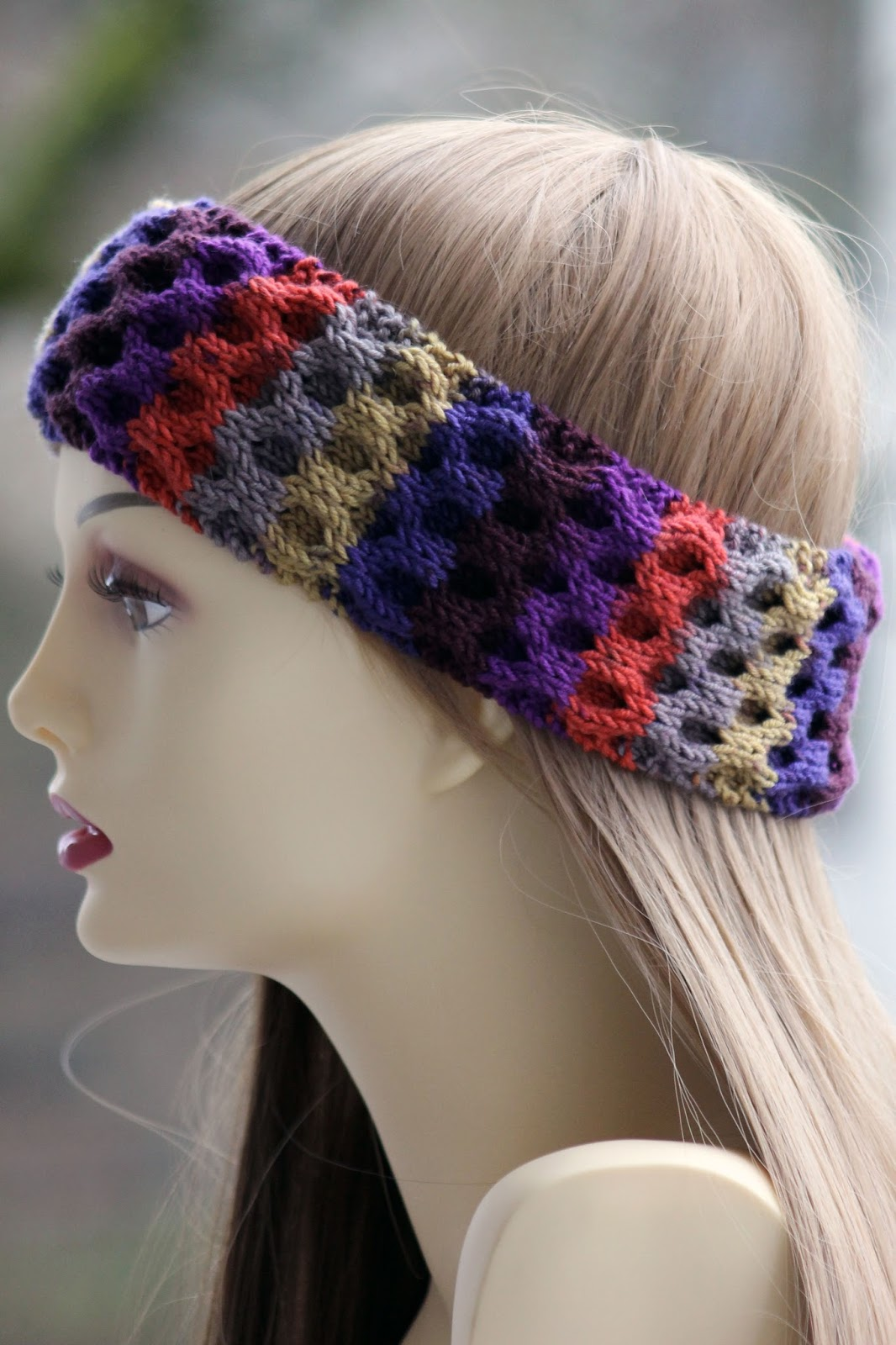 Balls to the Walls Knits: Honeycomb Headband