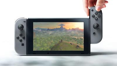 Falta poco para la llegada de la consola Nintendo Switch