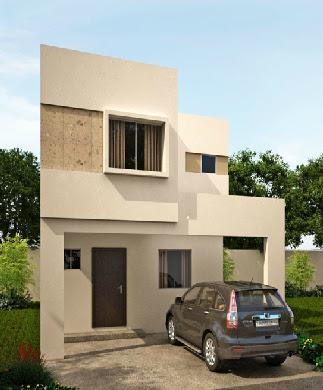 Fachadas de casas modernas julio 2013 for Fachadas de casas modernas de 6 metros