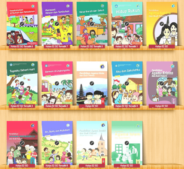 Buku Siswa SD Kelas II (2) Kurikulum 2013