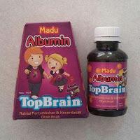 Madu Albumin Top Brain Rasa Anggur