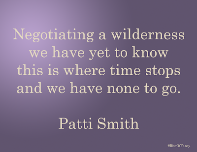 """Negotiating a wilderness we have yet to know this is where time stops and we have none to go."""
