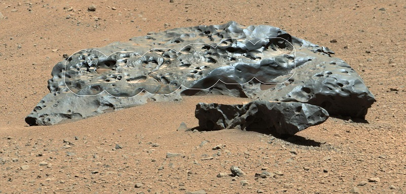 Iron and water of Mars