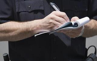 Αστυνομικός έκοψε πρόστιμο... στον εαυτό του! [ΦΩΤΟ]