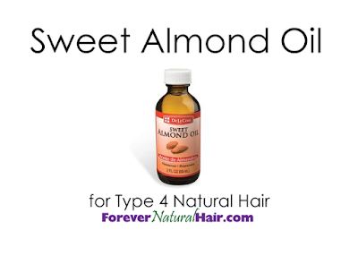 Sweet Almond Oil for Type 4 Natural Hair