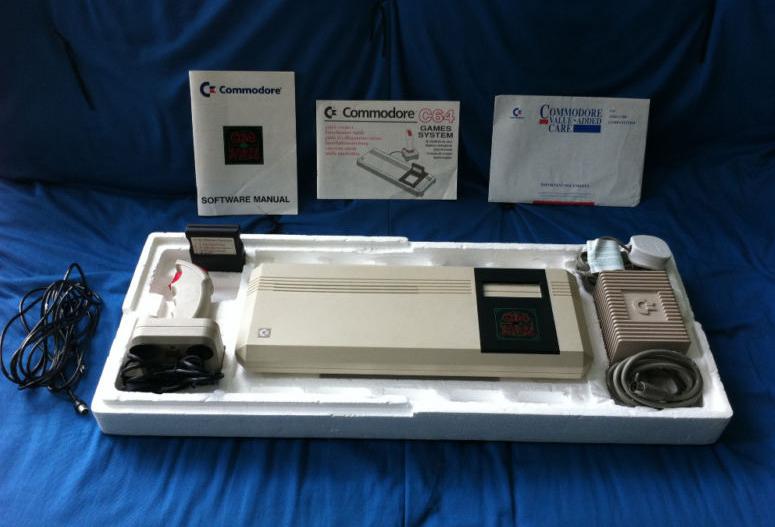 Retro Treasures: Commodore 64GS (CIB)