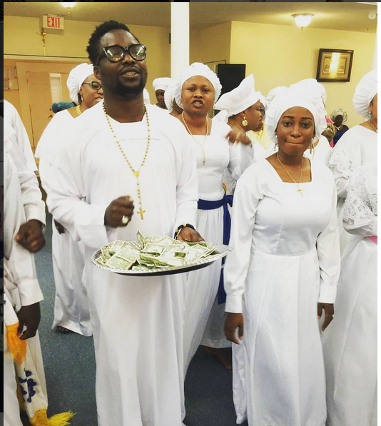 Actor Olusoji Taiwo, A.K.A. Omobanke,  Shares Photos From Georgia As He Clocks New Age