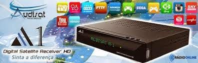 NOVA ATUALIZAÇÃO AUDISAT A1 HD  V1.099 -- 30/04/2015