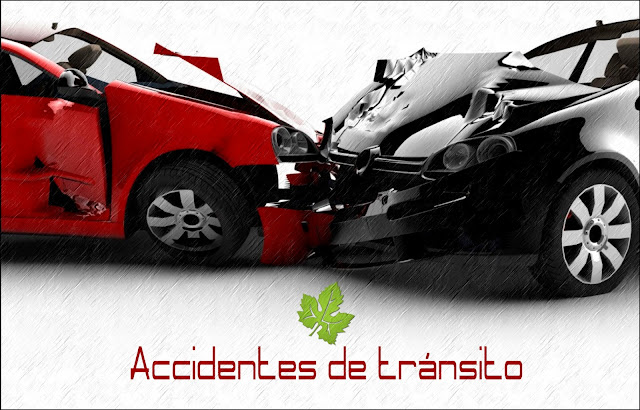 Autos chocados - Accidente de transito