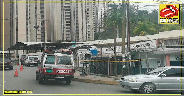 Transformador explotó en San Antonio de los Altos y los cables caen sobre un ambulatorio