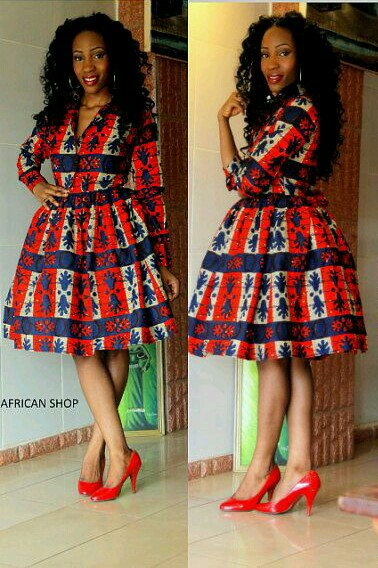 ANKARA DRESS STYLE 2017 FOR LADIES IN NIGERIA Hairstyle FM