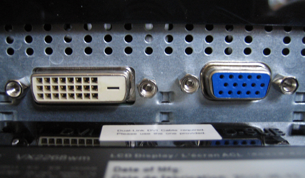 VGA port or DVI? The advantages and disadvantages of both variants