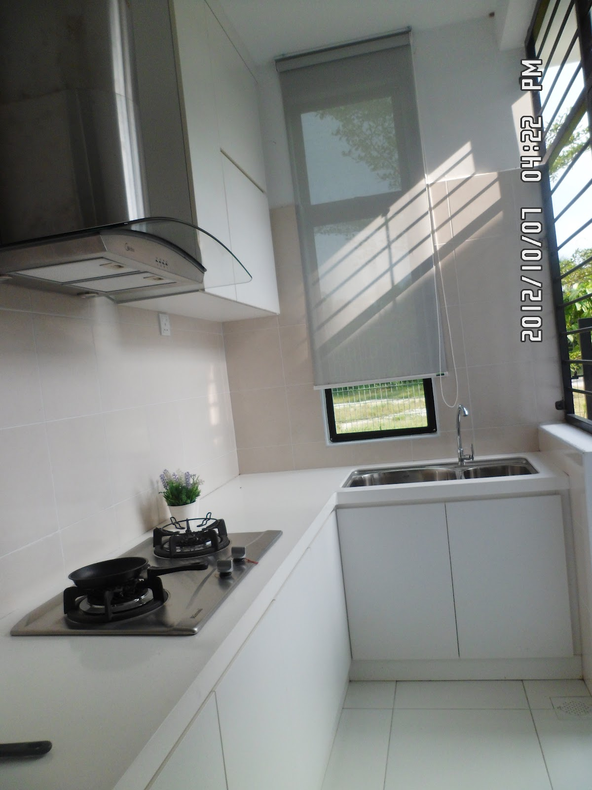 Ruang Dapur Basah Belakang Rumah
