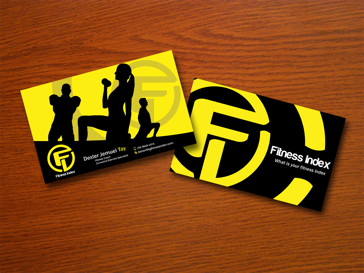 Fitness Business Cards Business Card Tips - Personal trainer business cards templates