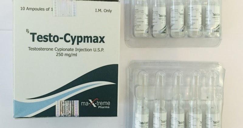 Testo-Cypmax 250 mg zinc
