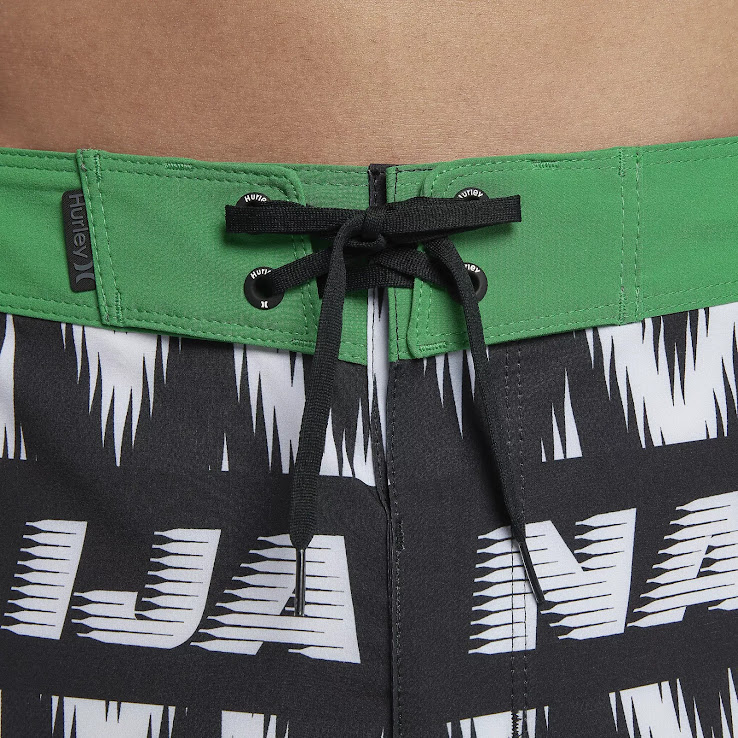 Insane Hurley Nike Nigeria 2018 World Cup Board Shorts Released ... 552e3fb9682