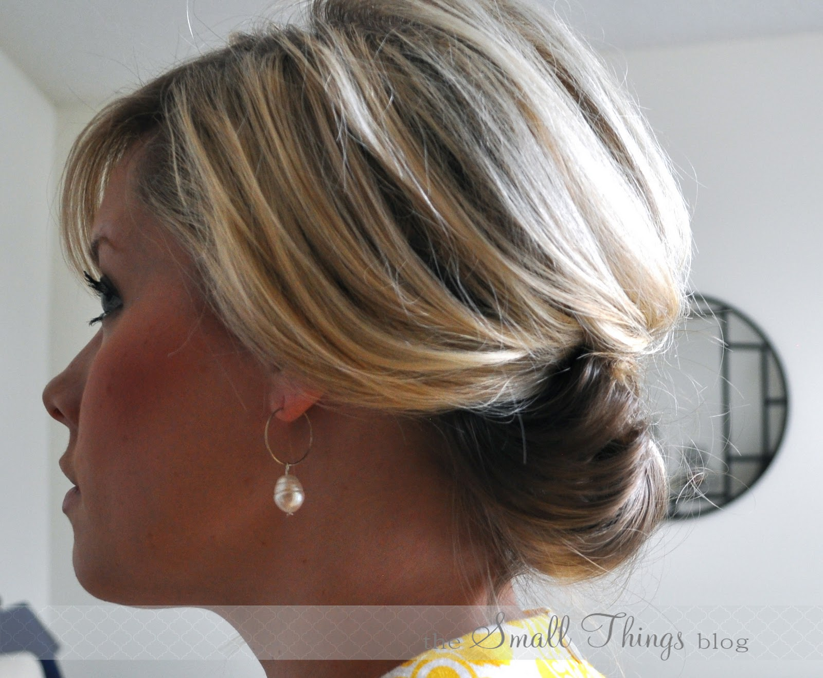 Hair Updos For Short Length Hair: The Small Things Blog