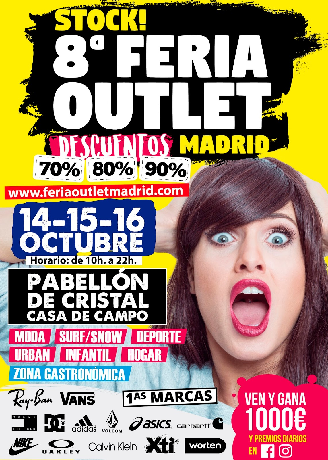 14 16 oct stock feria outlet madrid descuentazos de for Feria outlet malaga 2017