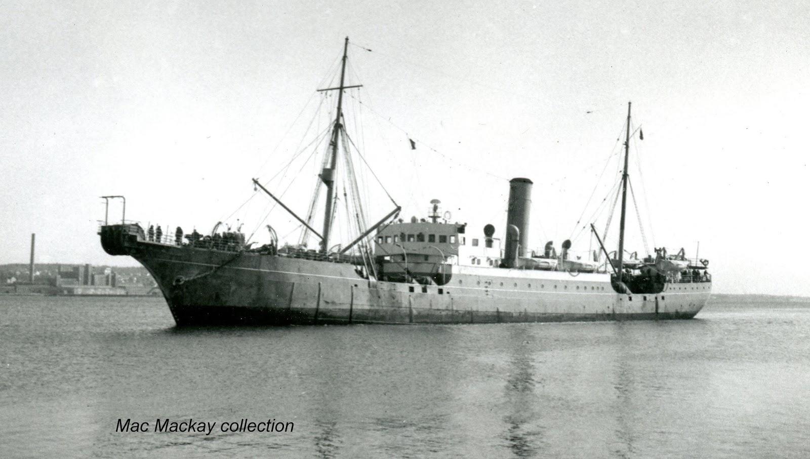 Shipfax It Intrepid Off To Deep Panuke