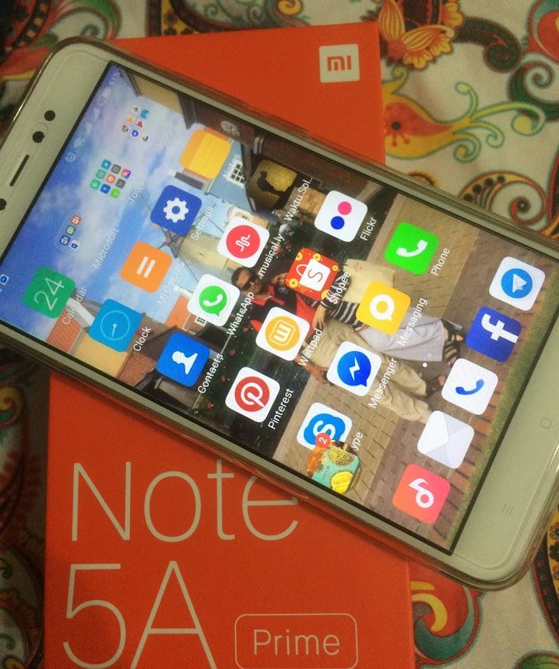 Review : Xiomi Redmi Note 5A Prime