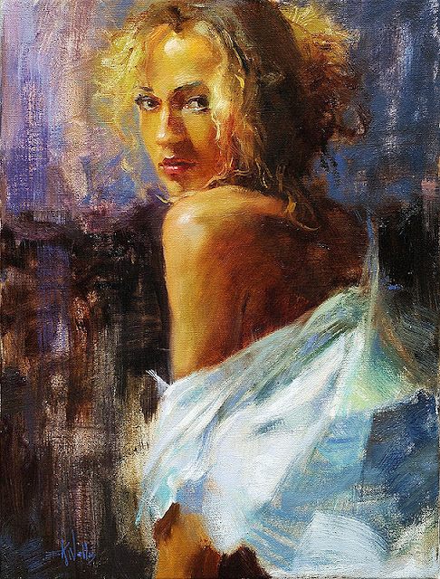 Charming Paintings By Eric Wallis