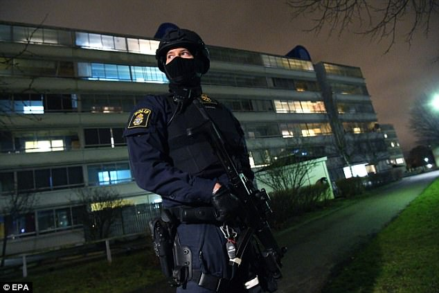 #Terrorism :Police station in Malmo,Sweden is rocked by a 'hand grenade attack'